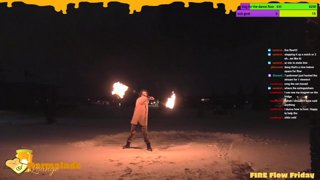 Highlight: FIRE Flow Friday * it's cold outside but let's warm up with the fire
