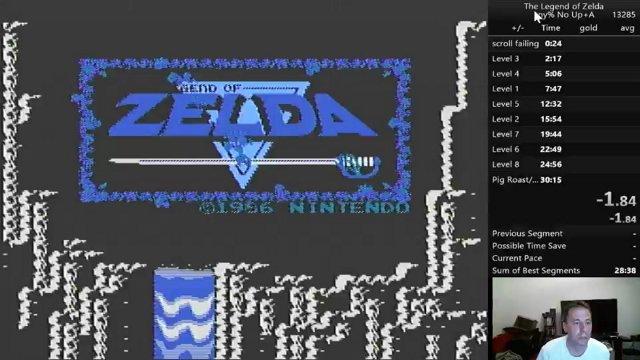 New PB Legend of Zelda 29:51 96