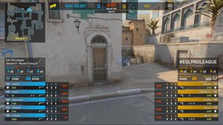 CS:GO - BIG vs. Natus Vincere [Dust2] Map 1 - Group B - ESL Pro League Season 9 Europe
