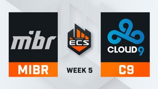 MiBR vs Cloud9 - Map 2 - Overpass (ECS Season 7 - Week 5 - DAY2)