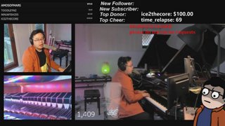 TMKOT with those symphonic loops for your listening pleasure :) daytime stream :D