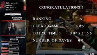 Roxy_Rose - Resident Evil 3 - PC New Game + Speedrun - 42:39