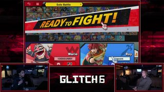 Glitch SSBU - Naeem (Roy) VS Tweek (Wario) Smash Ultimate Pools