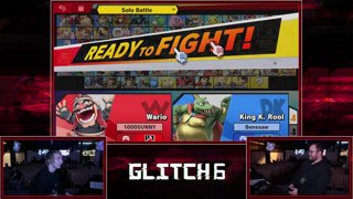 Glitch 6 SSBU -  Tweek (Wario, Donkey Kong) VS  Bonesaw (King K. Rool) Smash Ultimate Pools