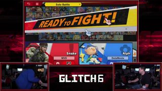 Glitch 6 SSBU -  PG | MVD (Snake) VS  Weste (Olimar) Smash Ultimate Pools
