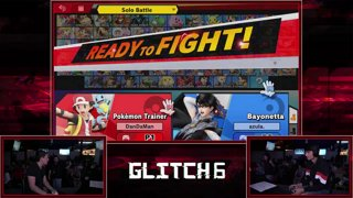 Glitch 6 SSBU -  DanTheMan (Pokemon Trainer) VS  EMG | Tamim (Bayonetta) Smash Ultimate Pools