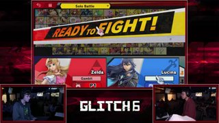 Glitch 6 SSBU -  OptiGambit (Zelda) VS  Disgea (Lucina, Game & Watch) Smash Ultimate Pools