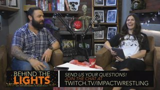 Pro Wrestling Talk with Anthony Carelli, Alicia Atout and Special Guest Johnny IMPACT! Behind The Lights: Episode 26