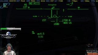 NotLikeThis Hand flown CAT IIIa into ANC (1/4 mile vis)