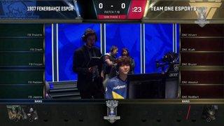fb vs team one - p1