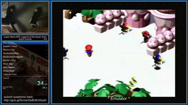 Super Mario RPG any% full speedrun tutorial