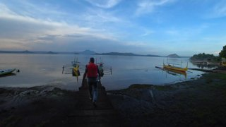 Boating Inside a Volcano - Taal Volcano (Philippines)