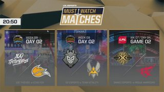 Must Watch Matches: Week 9