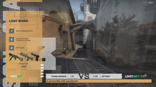 (EN) Unique vs OFFSET| map 1 | Loot.bet/CS Season 3 | by @VortexKieran & @skrivcasts