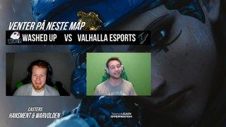Telenorligaen Høst 2018: Overwatch Runde 1: Valhalla Esports vs Washed Up