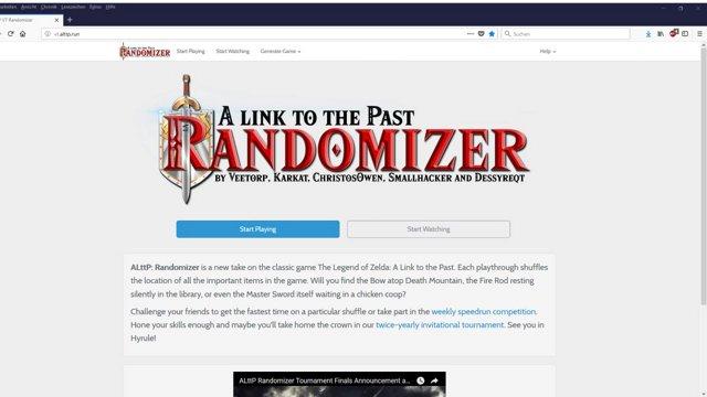 ALttP Randomizer Tutorial Teil 1: Einführung in den Randomizer