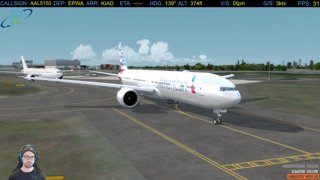 Part 3: Take Off and Departure | CTP Westbound 2018 | EPWA - KIAD