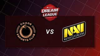 Chaos vs Natus Vincere - Game 3 - CORSAIR DreamLeague S11 - The Stockholm Major