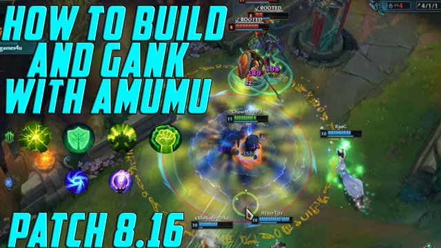 xBlackHalo - How To Play Amumu Season 8: AMUMU BUILD For Patch 8.16: HOW TO  PATH & GANK WITH AMUMU JUNGLE S8 - Twitch