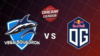 Vega Squadron vs OG - Game 1 - MAJOR Qualifiers - CORSAIR DreamLeague Season 11