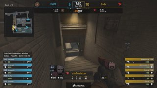 RERUN: ENCE vs FaZe - Semi Final - Dust2 - CORSAIR DreamHack Masters Dallas 2019