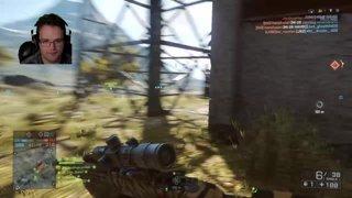 Crazy No scope headshot