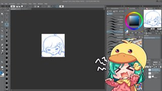 Highlight: doodling emotes today \o\ comf comf ngsleep