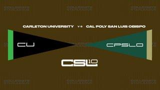 2018 CLoL Preseason Playoffs Ro64 - Carleton vs CPSLO (Game 1)