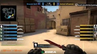 VOD 📽️ Astral Influence vs Ground Zero - BO1 - mirage [ESEA MDL Season 30 Australia]