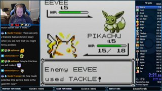 Insane Pokemon Yellow Run