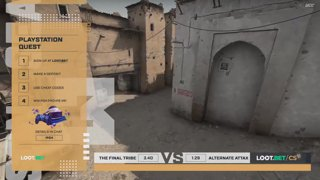 (EN) Alternate aTTaX vs The Final | map 2 | Loot.bet/CS Season 3 | by @VortexKieran & @skrivcasts
