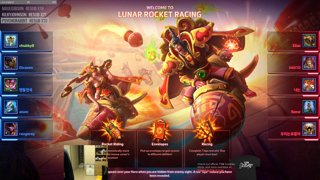 Chu8 tries out new Brawl Lunar Rocket Racing!