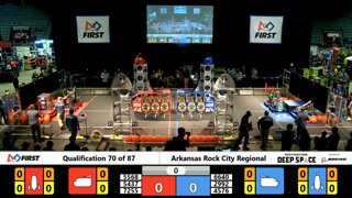 2019 FIRST Robotics Competition - Arkansas Rock City Regional - Saturday (Part B)