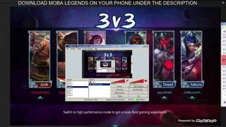 Moba Legends Gameplay