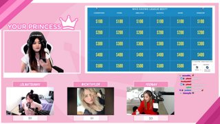 Highlight: LEAGUE OF LEGENDS JEOPARDY FT. NICKITAYLOR, LOLNATSUMIII, & YOONAH ♡