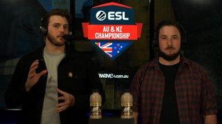 LIVE: ESL AUNZ Championship 2019 - CS:GO: Stage 2, Matchday #8 | pro.eslgaming.com/anz