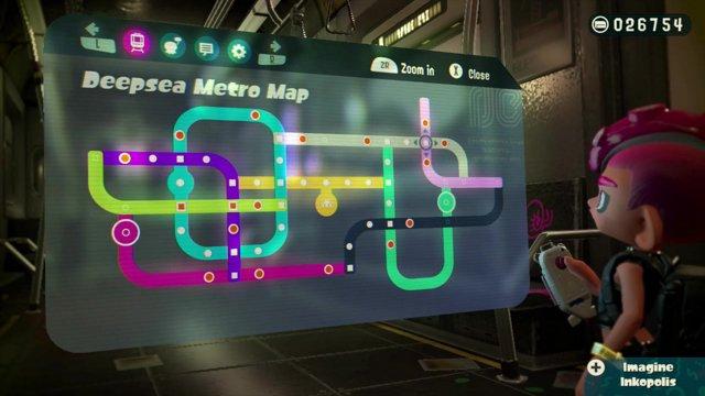Splatoon 2 Octo Expansion Subway Map.Highlight Splatoon 2 Octo Expansion Stream Pt 4