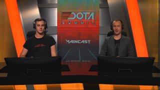 Quincy Crew vs Team Plus BO3 (Игра 2)   Dota Summit 11 Minor   NA Qualifiers
