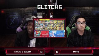 Glitch 6 SSBU - Liquid`Salem (Link) VS Mute (Mewtwo) Smash Ultimate Pools
