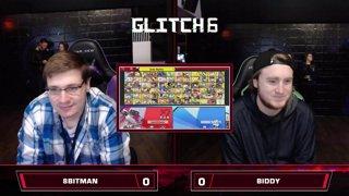 Glitch 6 SSBU - 8BitMan (R.O.B.) VS Biddy (Young Link) Smash Ultimate Pools