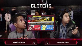 Glitch 6 SSBU - Lost1nTime (R.O.B.) VS Treasvon69 (Pikachu, Mario) Smash Ultimate Pools