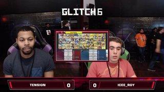 Glitch 6 SSBU - Tension (Pichu) VS Icee_Roy (Robin) Smash Ultimate Pools