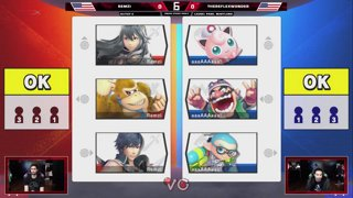 Glitch 6 SSBU - Remzi VS TheReflexWonder - Smash Ultimate Squad Strike Pools