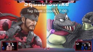 Glitch 6 SSBU - DOG | Blank VS MVD - Smash Ultimate Squad Strike Loser's Top 32