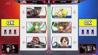 Glitch 6 SSBU - Scifire VS Marteen - Smash Ultimate Squad Strike Pools