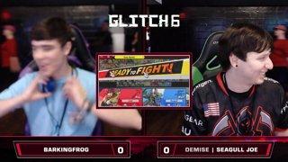 Glitch 6 SSBU - Barking_Frog (Roy) VS Demise | Seagull Joe (Wolf) - Smash Ultimate Morph Meter WQF