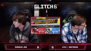 Glitch 6 SSBU - Dingus Joe (Game & Watch) VS AMG | 8BitMan (R.O.B.) - Smash Ultimate Morph Meter WQF