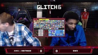Glitch 6 SSBU - AMG | 8BitMan (R.O.B.) VS 6WX (Sonic) - Smash Ultimate Morph Meter LQF