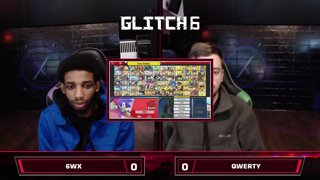 Glitch 6 SSBU - 6WX (Sonic) VS QWERTY (Sonic) - Smash Ultimate Morph Meter Pools