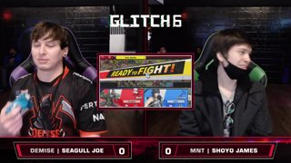 Glitch 6 SSBU - Demise | Seagull Joe (Wofl) VS MNT | Shoyo James (Chrom) - Smash Ultimate Morph Meter LQF